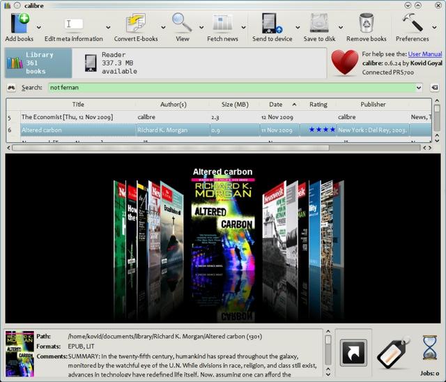 Lectura, Archivos PDF, ePub,… Y Calibre | Mackinista